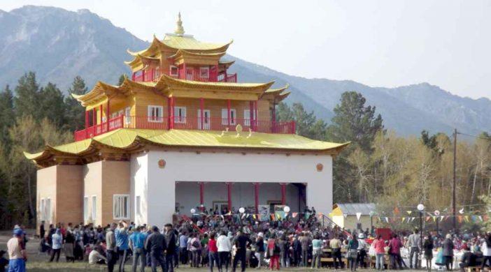 Буддийский праздник почитания богини Янжимы в Баргузинском дацане